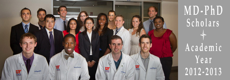 UF College of Medicine MD Phd class of 2013