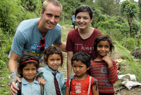 Stephen Chrizanowski in Nepal
